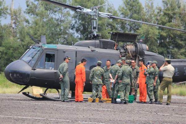 臺灣陸軍裝備的UH-1H直升機