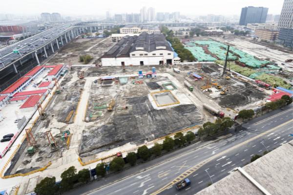 市北边高新集儿子团弄正上海中心城区集儿子合开建2669套优质稀品出赁住房 诗蓓 摄