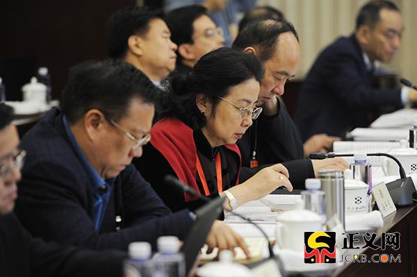 全国政协十三届二次会议总工会界别召开小组会