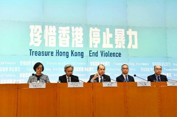 香港特区政务司司长张建宗:香港