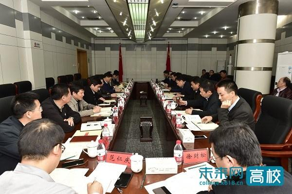 中南财经政法大学领导访问合肥工业大学