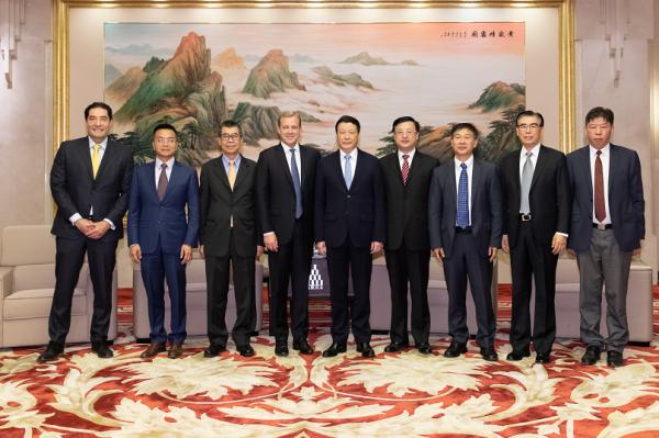 应勇市长会见上海集成电路设计产业并购投资基金相关成员