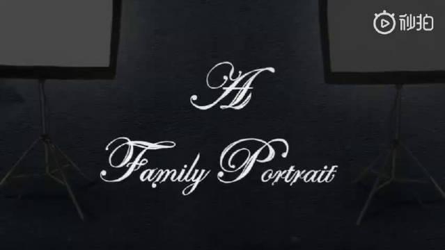 动画短片《各怀鬼胎的全家福》,看似和谐的一家人在拍摄全家福时