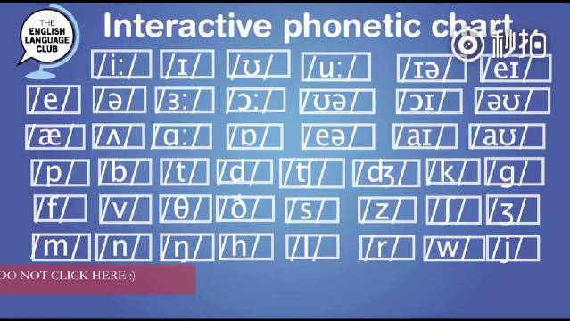 国际音标标准发音 英语作为一门语言,音标是基础的基础