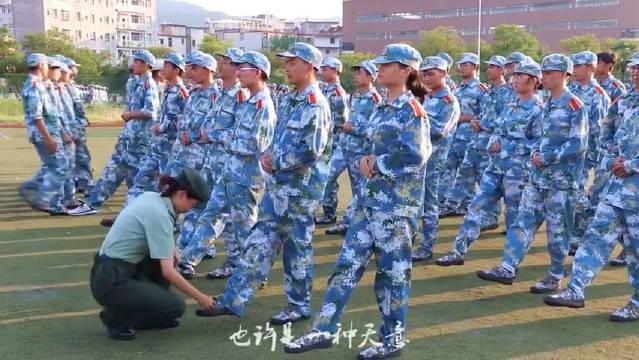 某高校改编军训版吴亦凡的《大碗宽面》致敬祖国
