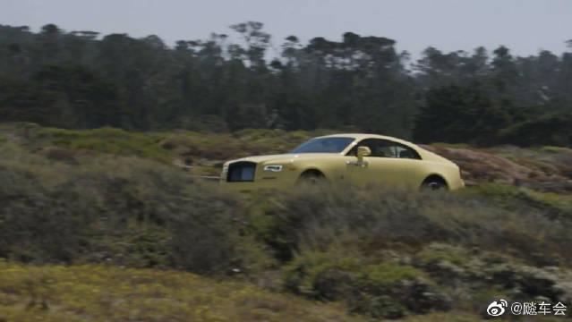 劳斯莱斯古斯特换代前最后的限量车型在圆石滩展出