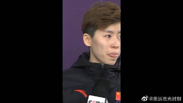 赛后采访:范可新未进决赛内心有遗憾