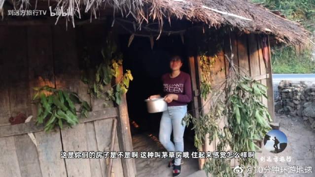 老挝旅游请注意,门口有树枝不能随便进,你知道为什么吗?