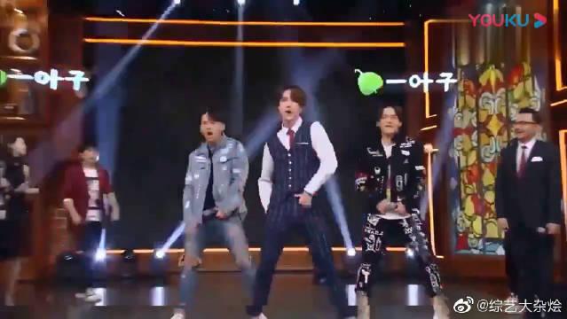 天天向上3BIGBANG的御用伴舞是王一博曾经的老师