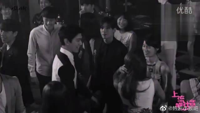 《上流社会》盛骏、UIE林、智妍、和朴炯植的夜店拍摄花絮来啦