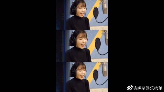 韩国女明星IU李知恩,喜欢她的笑声,说话声音也超好听的~