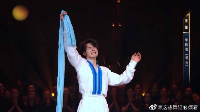 张翰中国舞《破茧》舞蹈风暴时刻!
