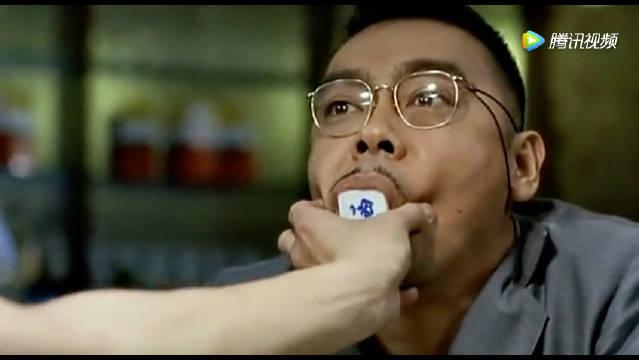刘青云和吴镇宇打麻将 一直吃麻将 笑死了  .