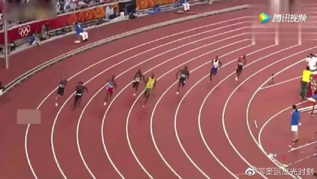 北京奥运会博尔特超越极限破世界纪录