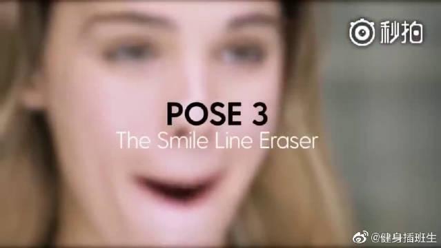 4个面部瑜伽动作,有效减少脸颊的皱纹