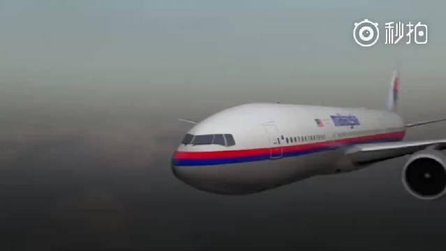 动画模拟马航MH17客机被山毛榉导弹击落过程
