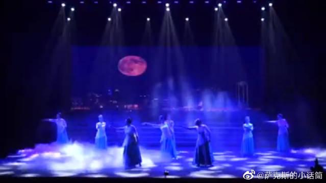 《城里的月光》萨克斯伴舞,年会节目