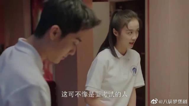 陶子的父母回国陪女儿高考