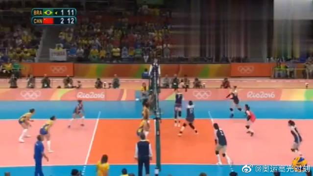 中国女排里约奥运高光时刻