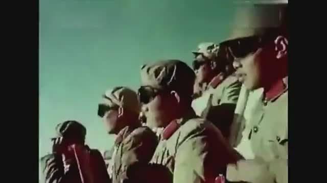 中国第一枚氢弹爆炸视频,太珍贵了!