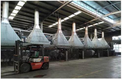 板材企业果蒸汽没法供给停产