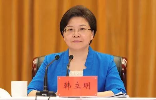 韩立明(女)已任南京市政府党组书记