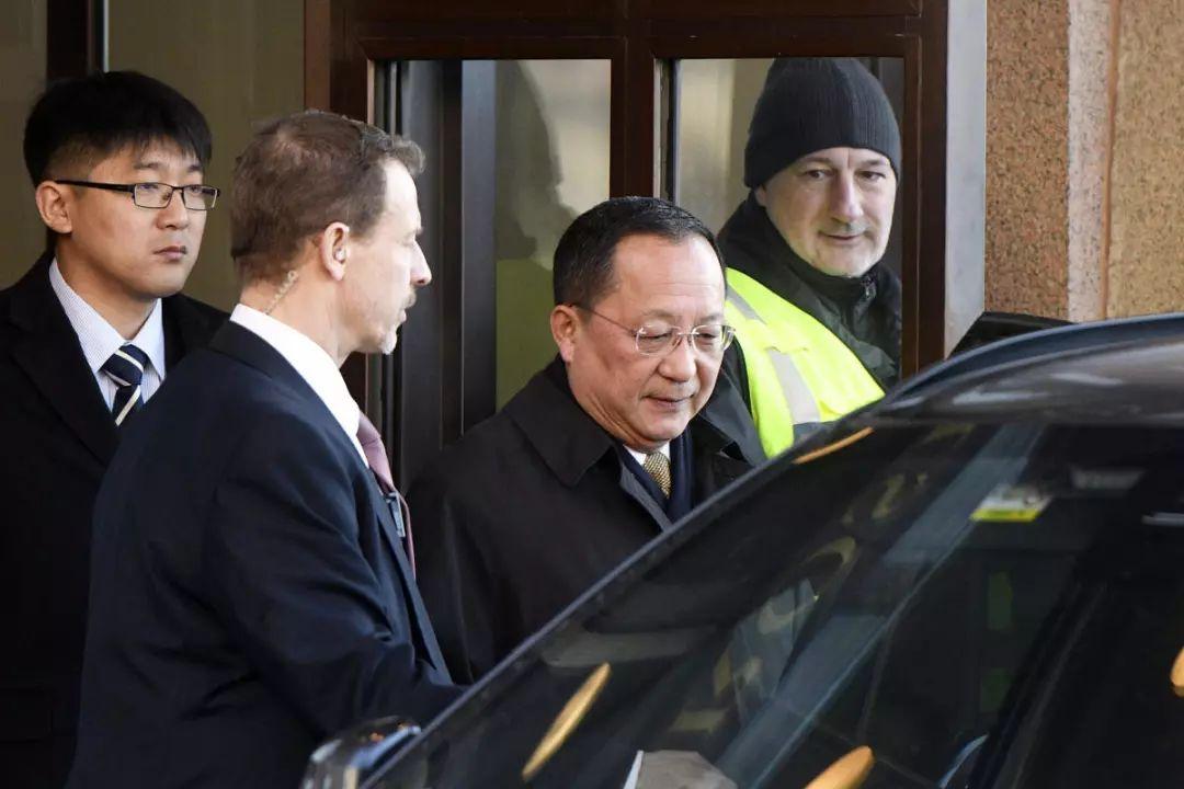 ▲朝鲜外务相李勇浩3月访问了斯德哥尔摩。(美联社)