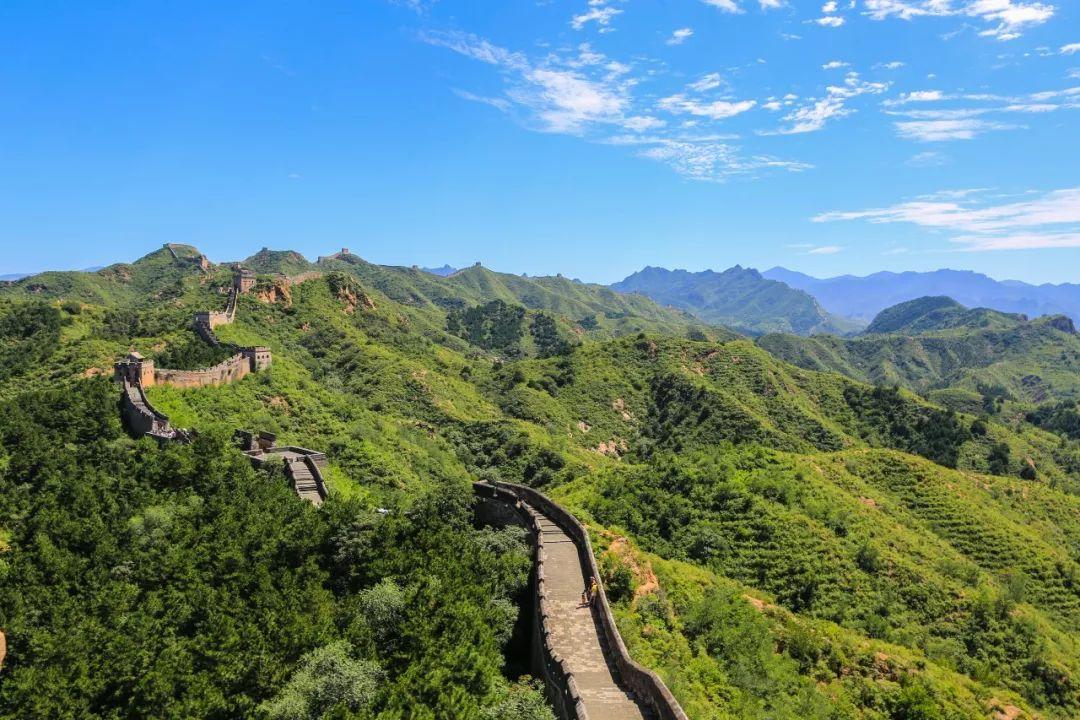 滦平县的金山岭长城