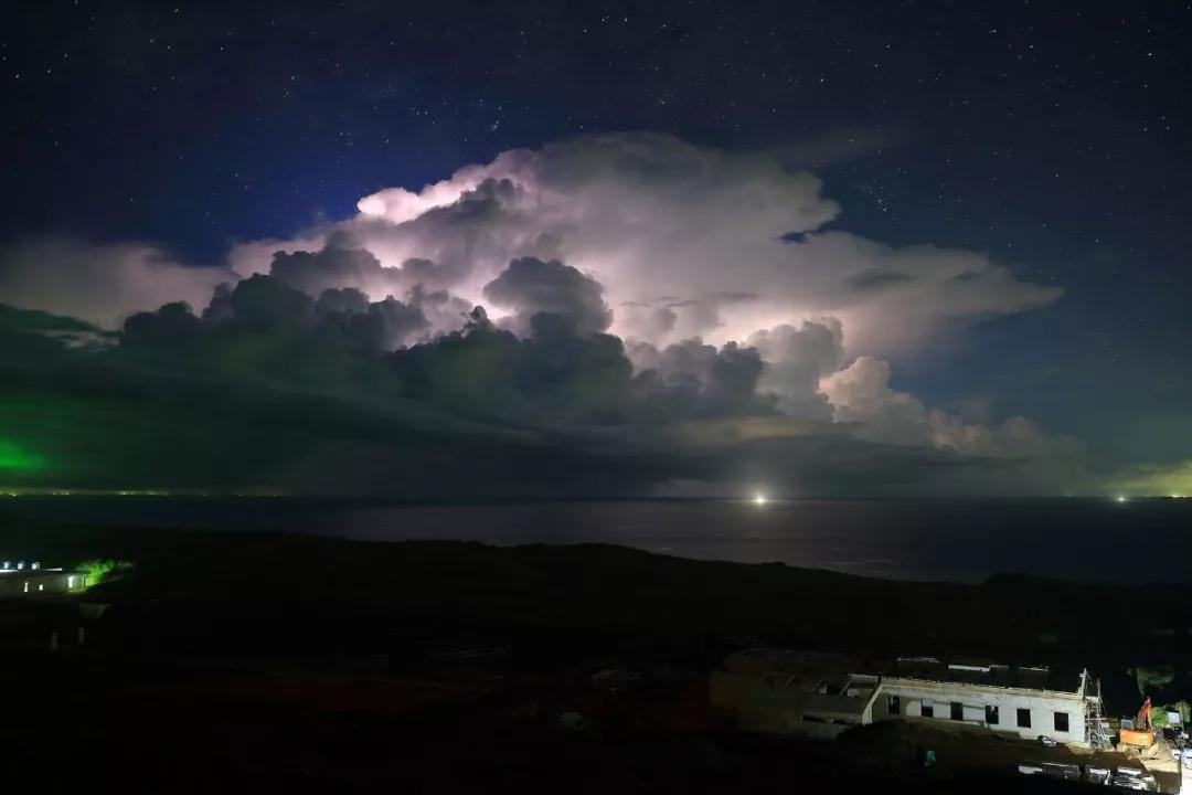台照片被世界气象组织标注