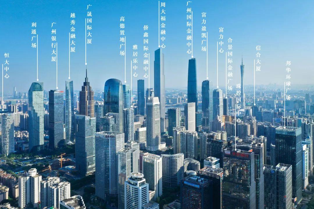 州天河cbd_揭秘广州天河cbd:中国300米以上摩天建筑最密集之地