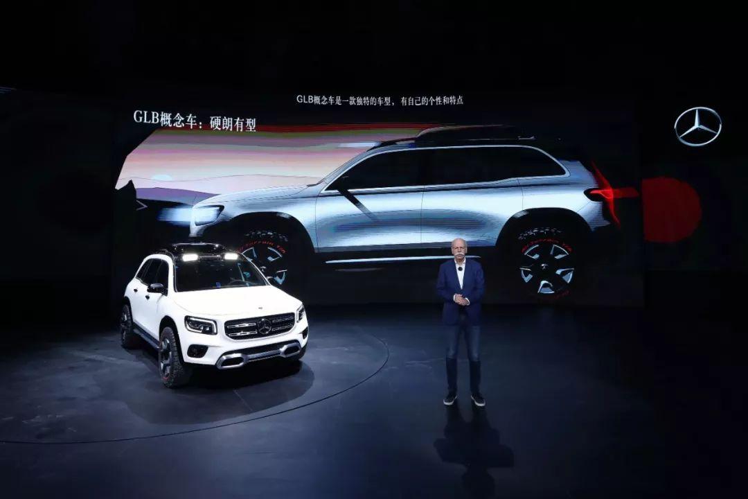 终于在电动SUV发力,奔驰EQC亮相上海车展