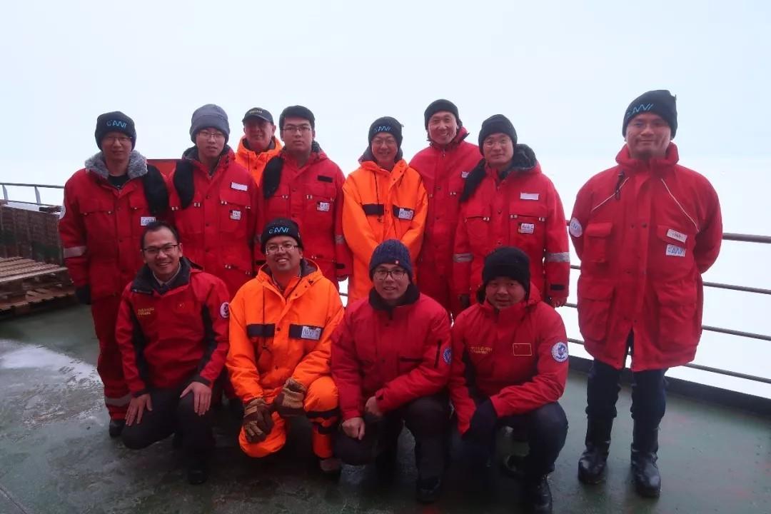 国际联合北极考察队已完成浮标阵列的构建