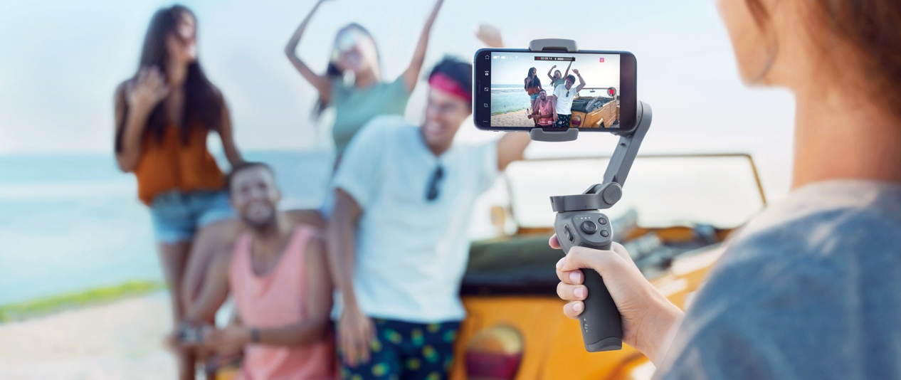 灵眸手机云台3新增旋转拍摄功能,宅家也能拍出神级Vlog