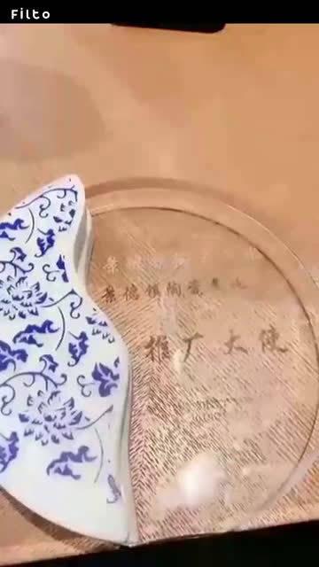 白小白又获荣誉证书 歌手白小白参加景德镇陶瓷推广