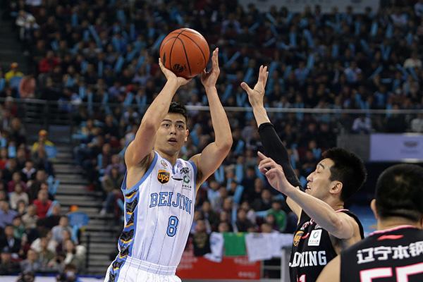 北京首钢惜败辽宁,方硕表现十分出色。