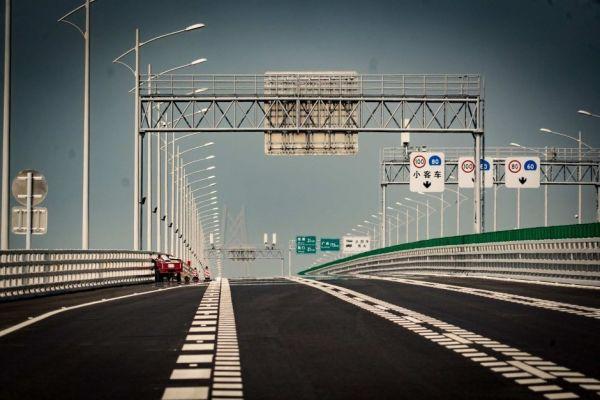 港珠澳大桥是中国基础设施雄心的最新展示(澳大利亚广播公司网站)