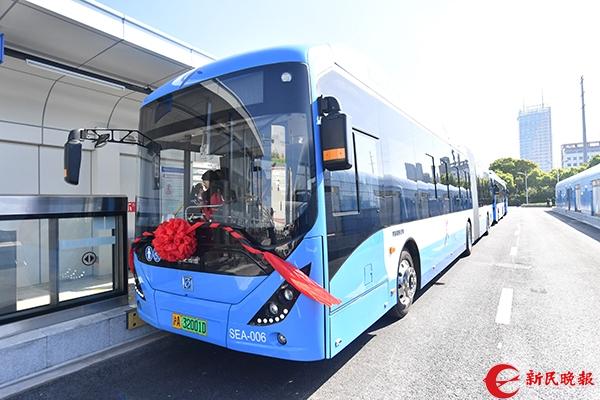 上海首条BRT奉浦快线今起投入运营小学数学教案苏教版图片