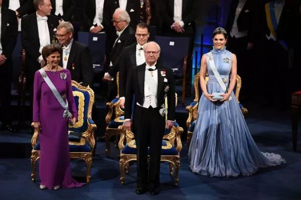 ▲瑞典国王是瑞典文学院的赞助人