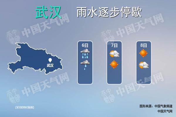 今天雨水覆盖湖北全省 武汉孝感等局地暴雨并伴有雷电