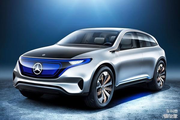 奔驰EQC确认2019年发布 配备全时电四驱 汽车殿堂
