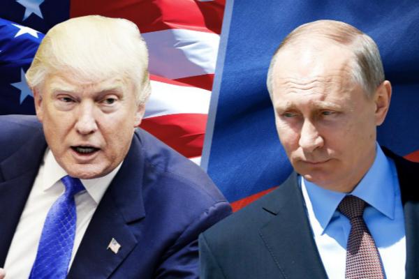 图为美国总统特朗普与俄罗斯总统普京。(图片来源:美国有线电视新闻网资料图)