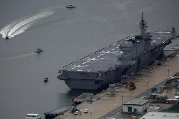 日本被曝将再派准航母赴中国南海巡航 已持续两年