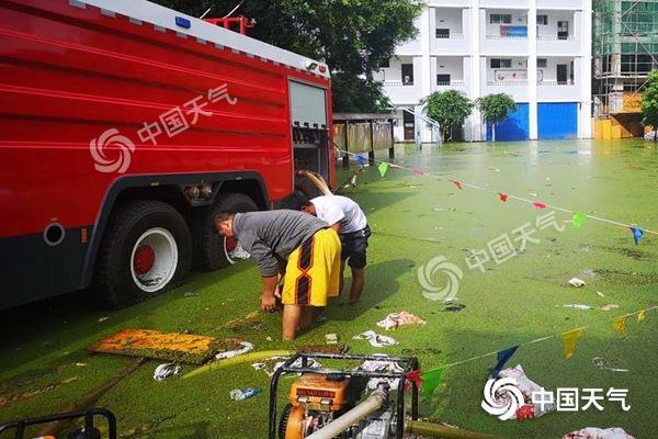 云南文山强降雨引发洪涝致10人伤亡 未来局地仍有暴雨