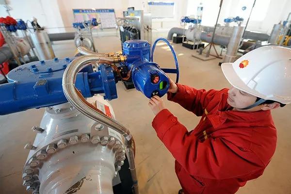 ▲在俄擴大對中國市場油氣出口的背景下,兩國貿易額到2020年將達到2000億美元大關。(《中國日報》)
