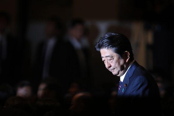 資料圖:日本首相安倍晉三