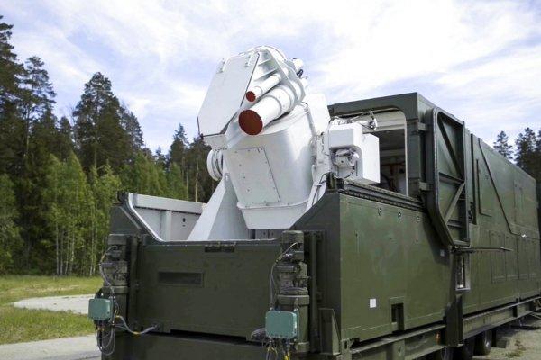 """資料圖片:俄軍""""佩列斯韋特""""戰略激光系統。"""