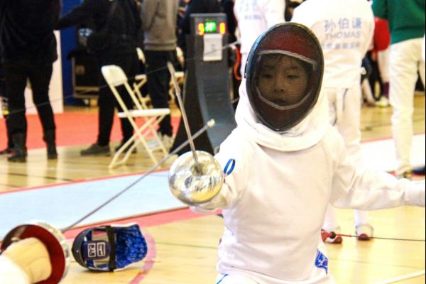 2019北京国际学校击剑联赛,凯文剑客获佳绩