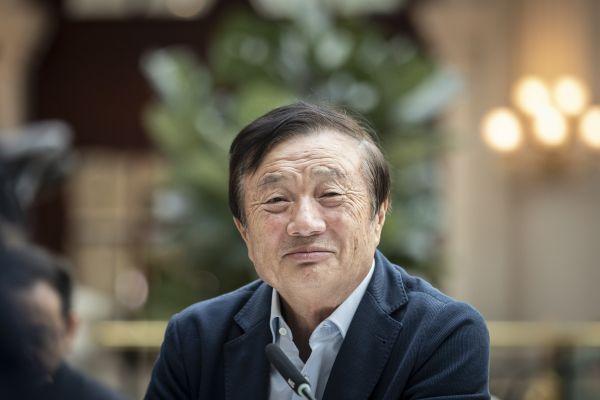 華爲創始人兼首席執行官任正非(視覺中國)