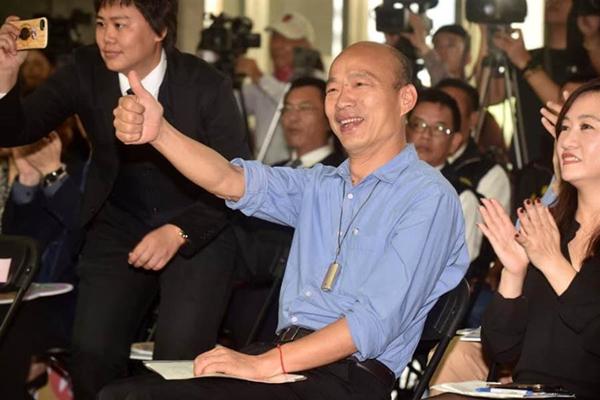 高雄市长韩国瑜(图片取自台媒)