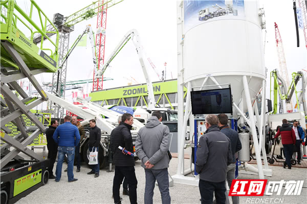 中联重科德国宝马展收获订单近7亿元